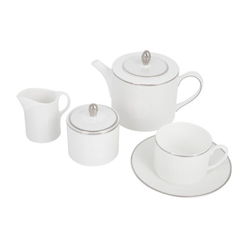 Lizzard Platinum Tea Set