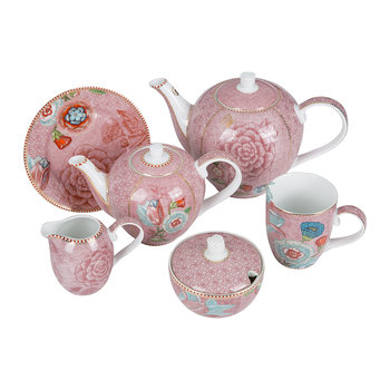 Spring To Life Pink Tea Set
