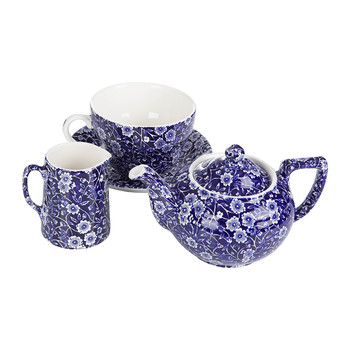 Blue Calico Tea Set