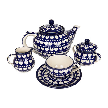 Blue Valentine Tea Set