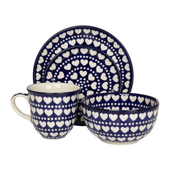 Blue Valentine Tableware
