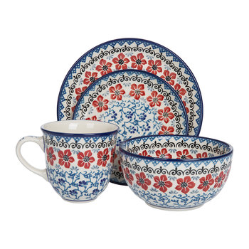 Red Violets Tableware
