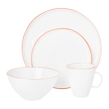 Abbesses Red Tableware Collection