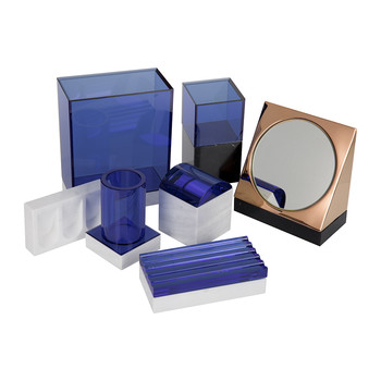 Lid Bathroom Accessory Set
