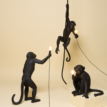 Monkey Lamp Black Collection