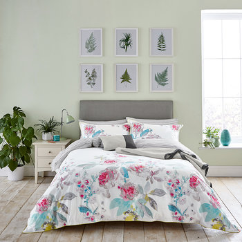 White Beau Bloom Bed Linen