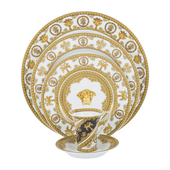 I Love Baroque Tableware - White