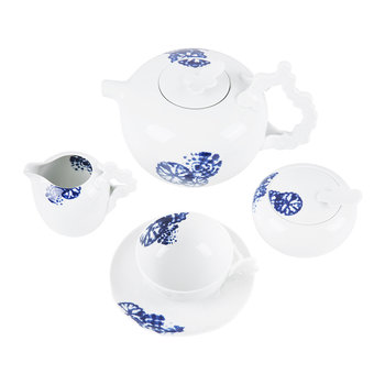 Landscape Shibori Tea Set