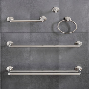 Oblique Bathroom Accessory Set