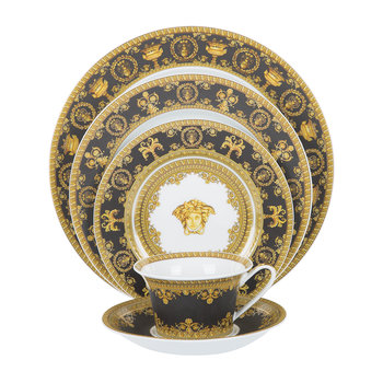I Love Baroque Tableware - Black