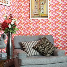 Shop geometric wallpaper