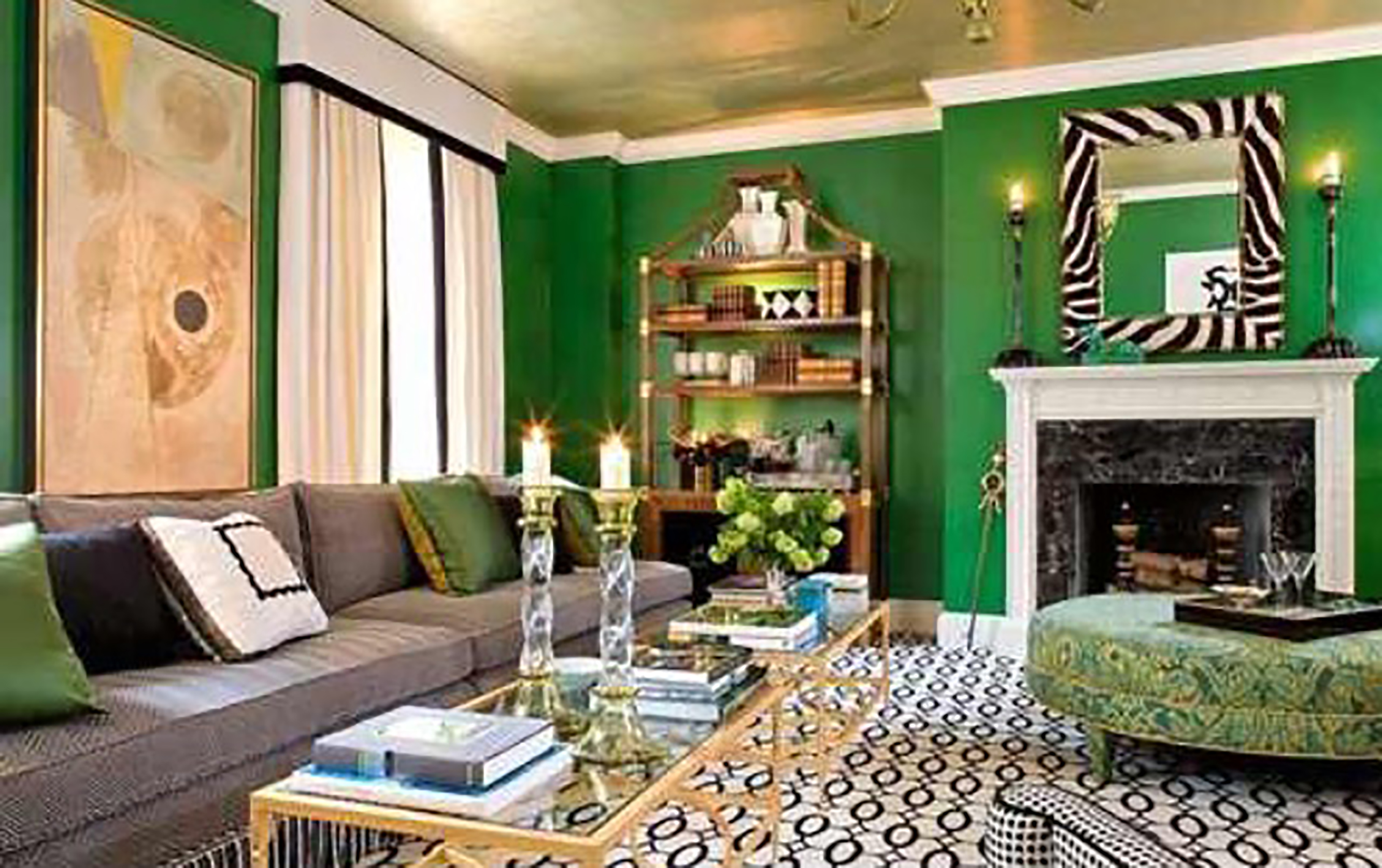 How to Decorate with Dulux\'s Color of the Year: Cherished Gold