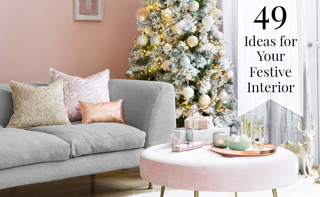 christmas decorating 49 ideas for your festive interior - Christmas Decorations For Your Room
