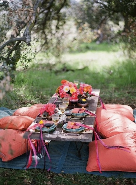 Bohemian picnic -  How to Plan the Perfect Picnic