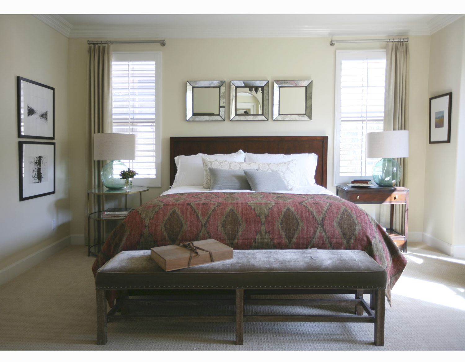 Brittany Stiles Interior Design Bedroom California