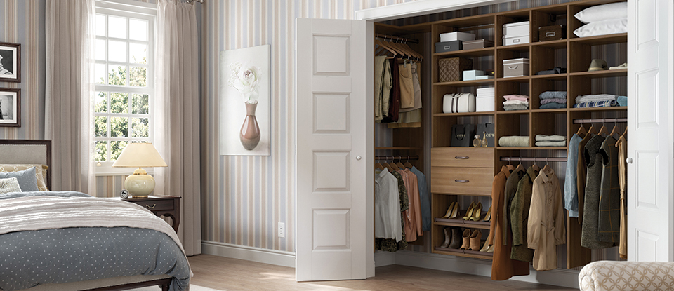 California Closets Delancey Wardrobe