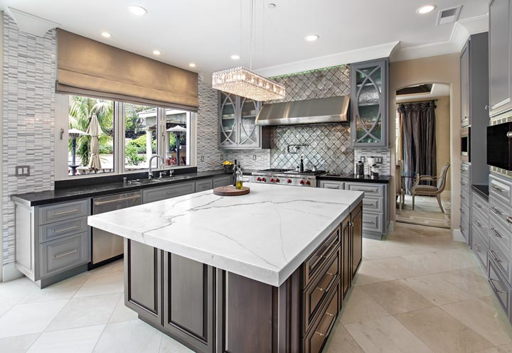 Orange Coast Interior Design California Kitchen