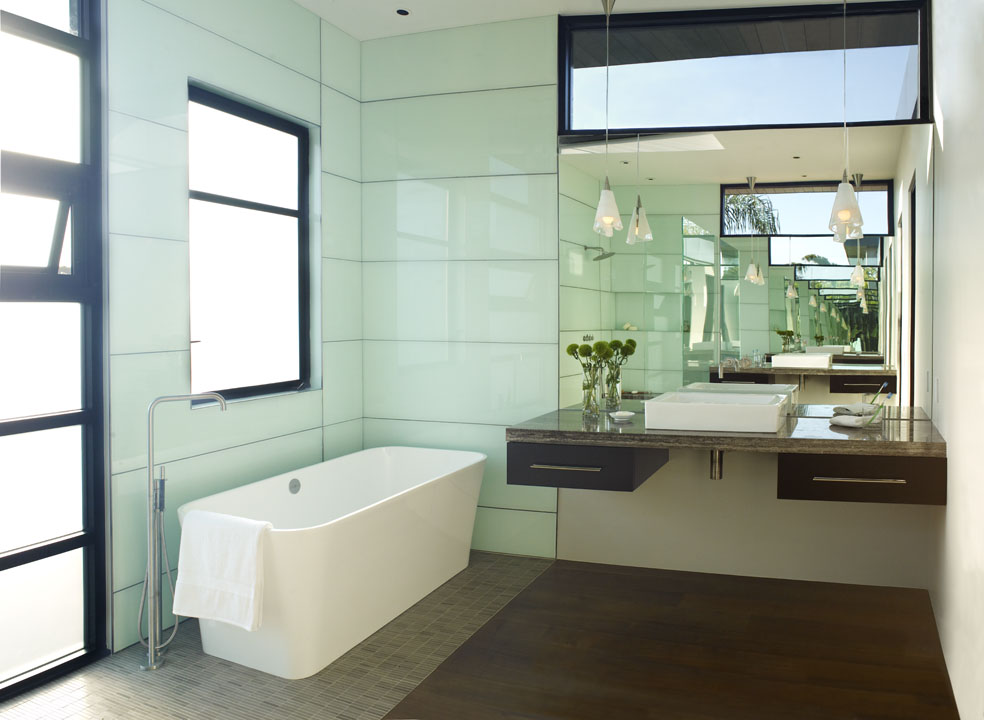 Treasures Interior Design California Bathroom