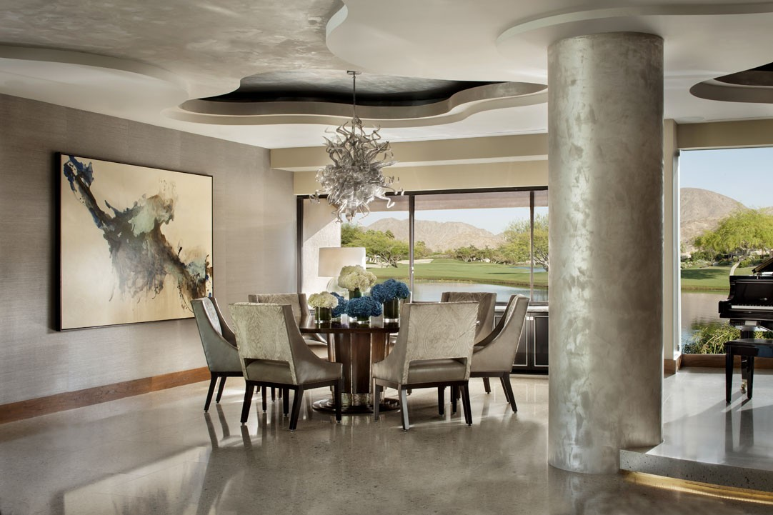Willetts Design California Dining Room Interior