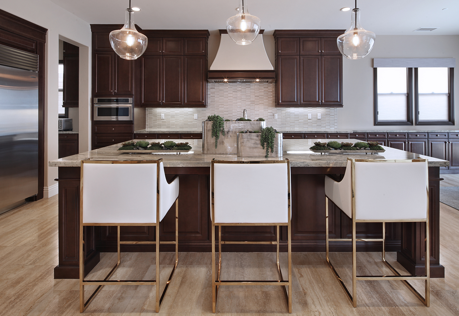 Zach Cole Interior Design California Kitchen