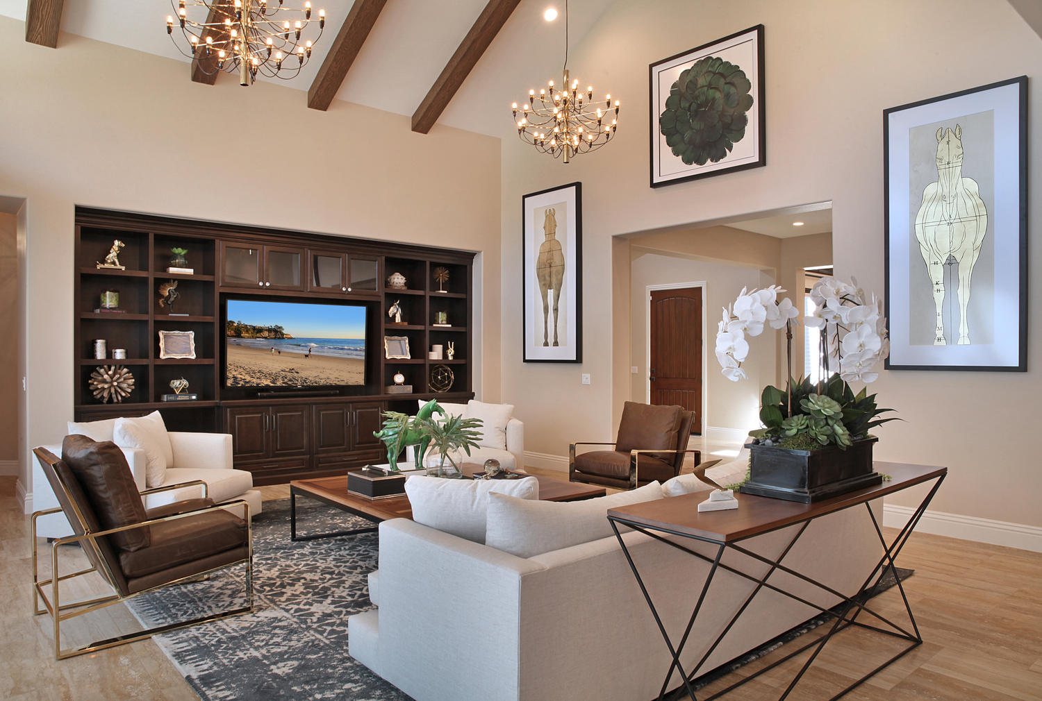 Zach Cole Design California Living Room