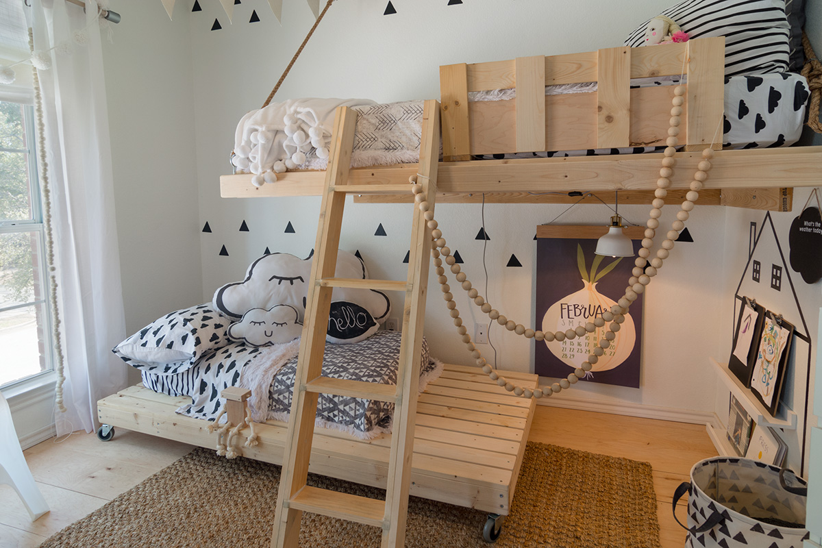 Urbanology Interior Design Texas Scandinavian Kids Room