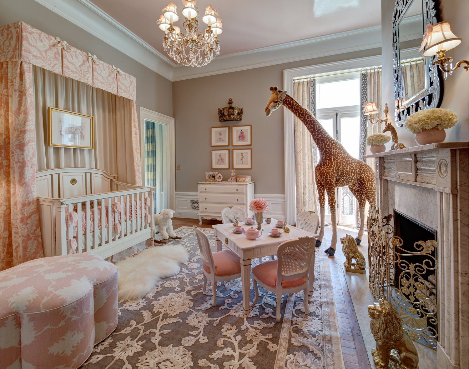 Kristin Ashley Interiors New Jersey Nursery Room