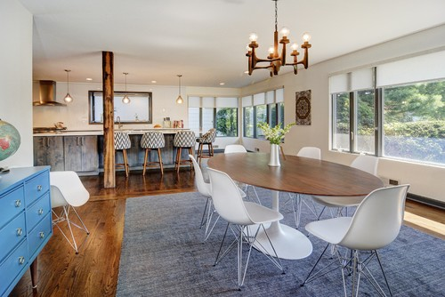 Nu Interiors New Jersey contemporary dining room