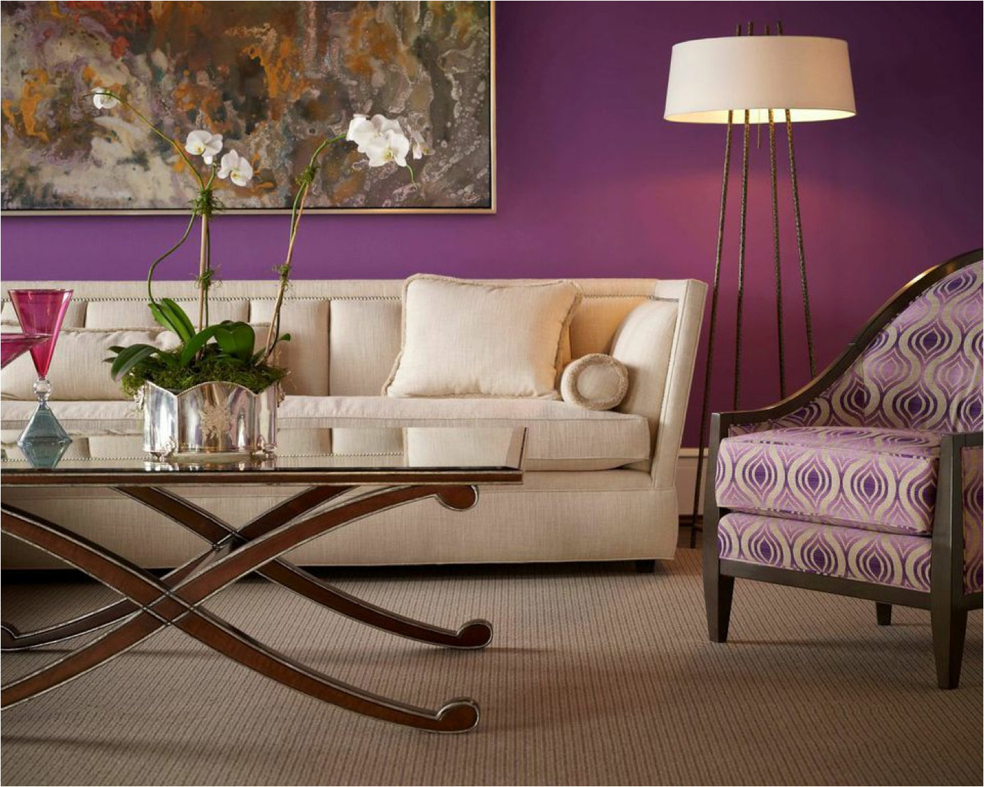 Ron Nathan Interiors New Jersey Living Space