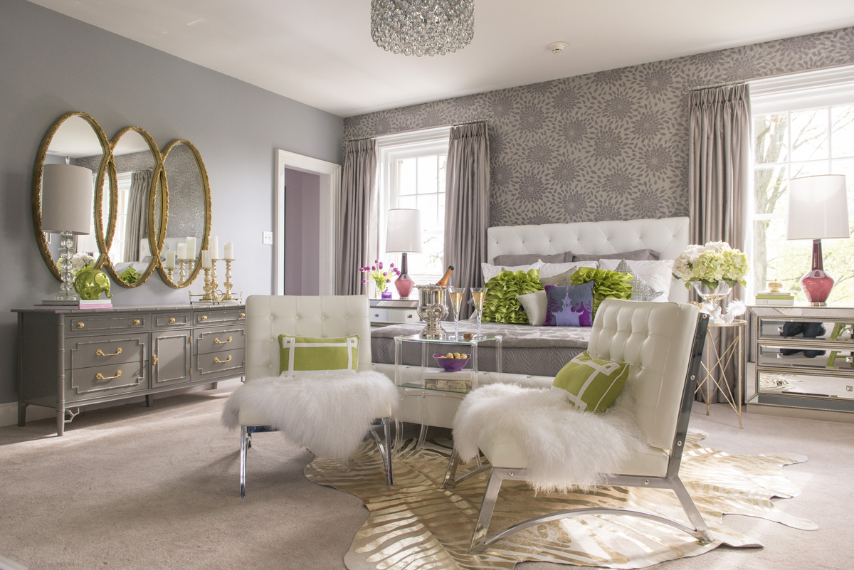 Karen Viscito Interior Design Pennsylvania Bedroom