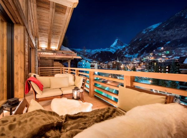 Take a Trip to Seventh Heaven at Chalet Elbrus, One of Zermatt's Most Exclusive Lodges