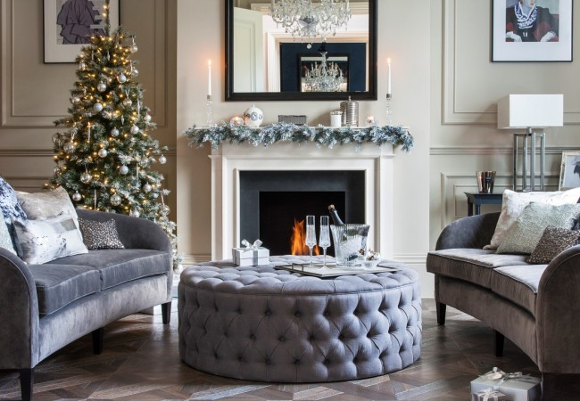 glamorous christmas interior style the luxpad the glamorous interior house design with cream tons