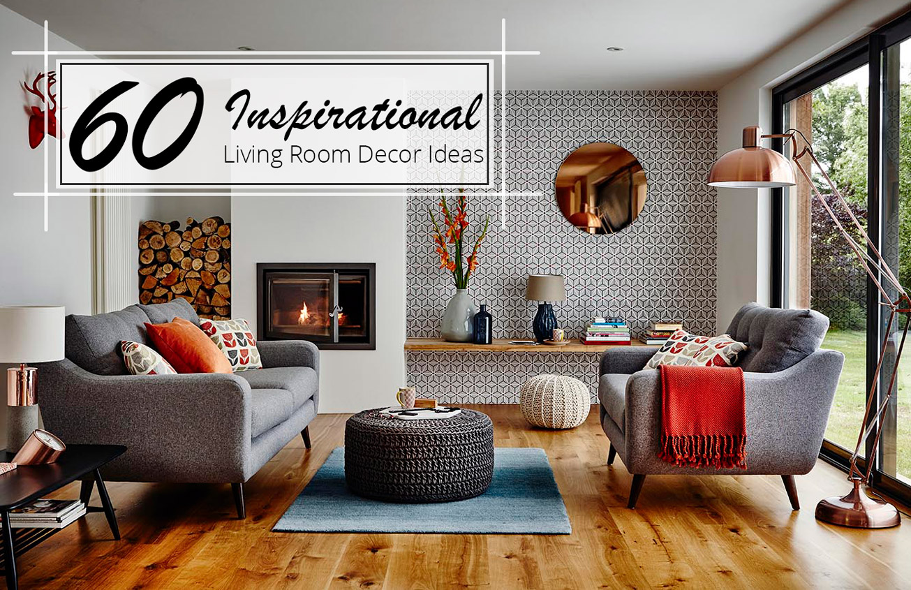 60 inspirational living room decor ideas the luxpad - Black and orange living room ideas ...