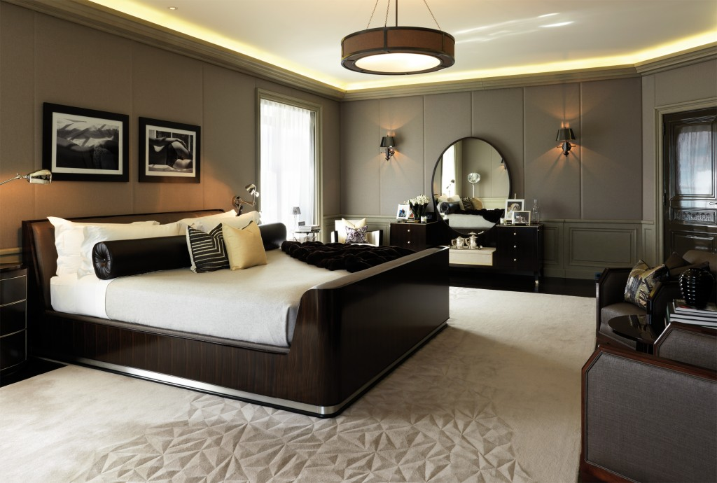 Glam bedroom ideas