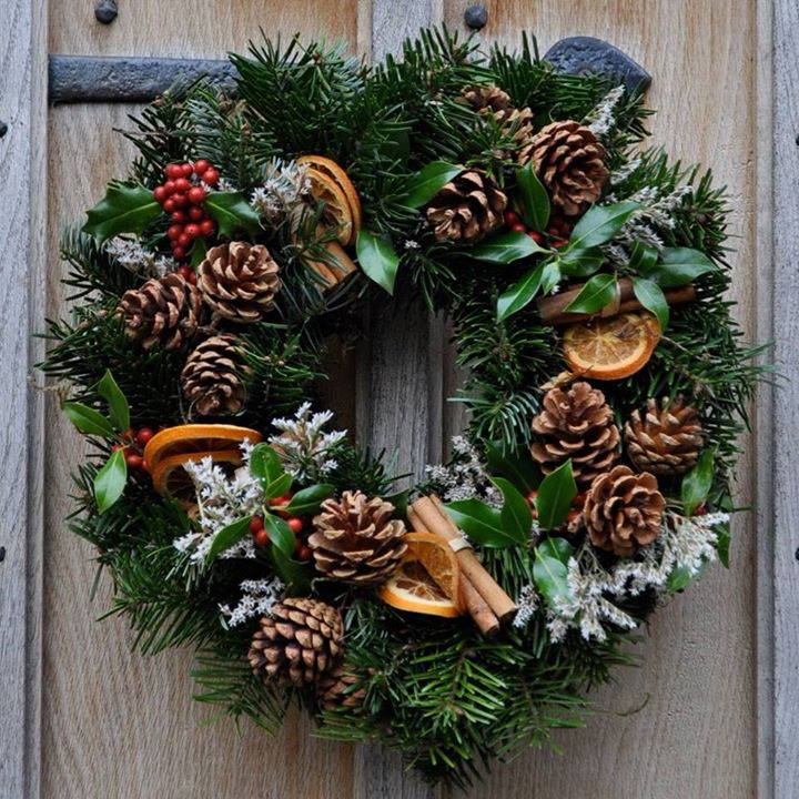 22 christmas wreath ideas for your home