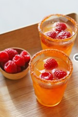 blood orange mocktail