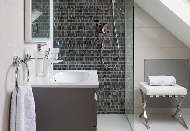 Top five bathroom trends for 2016 the luxpad the for Trends in bathroom tile