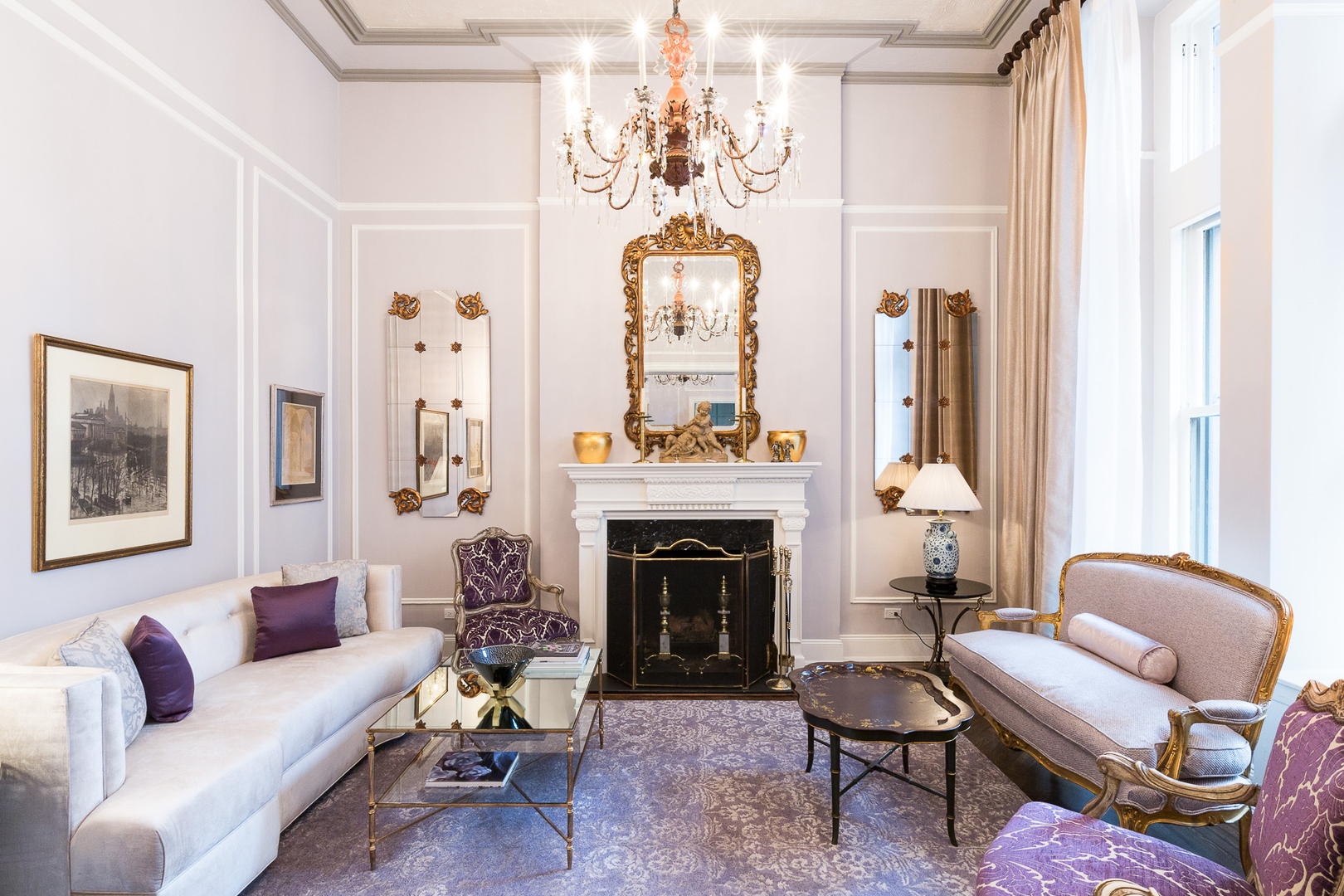 Rococo Design Interiors Is A Firm Located In Brooklyn Founder Ursaille Smiths Skills Conceptual Were Formed During Her Study At The Art