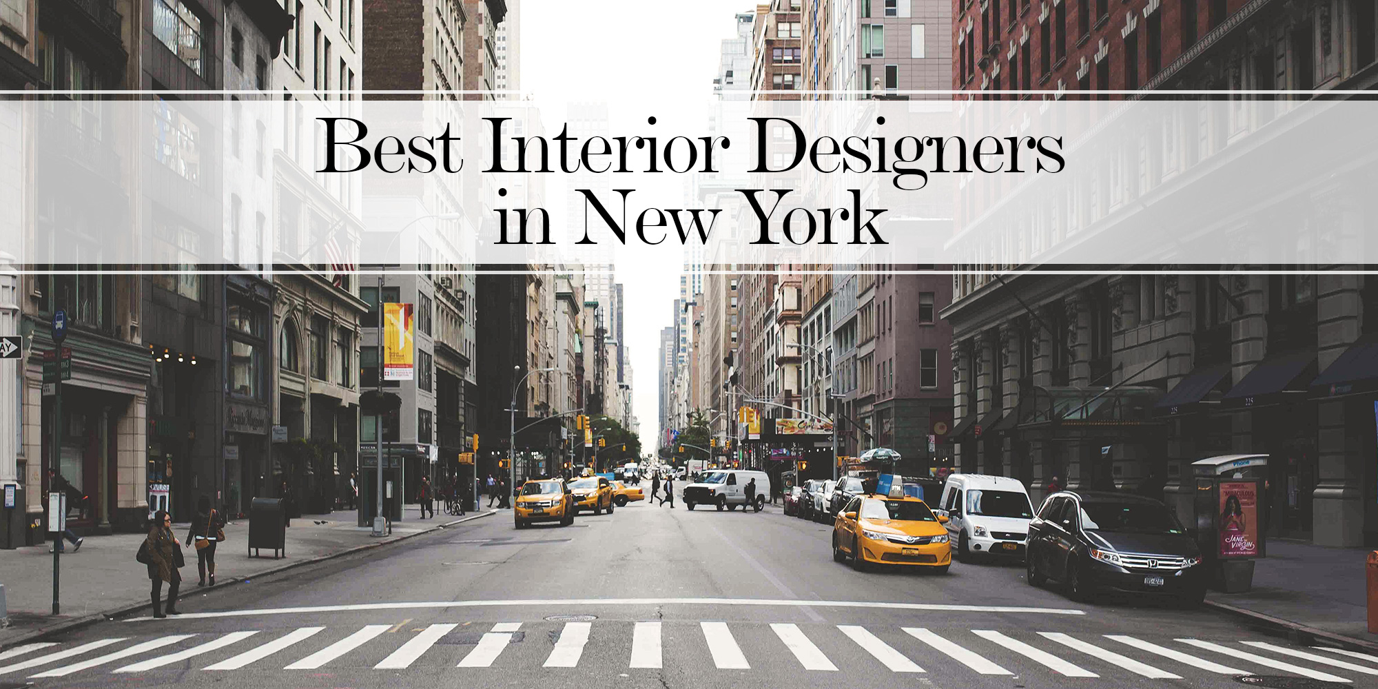 20 best interior designers in new york the luxpad the for Famous interior designers nyc