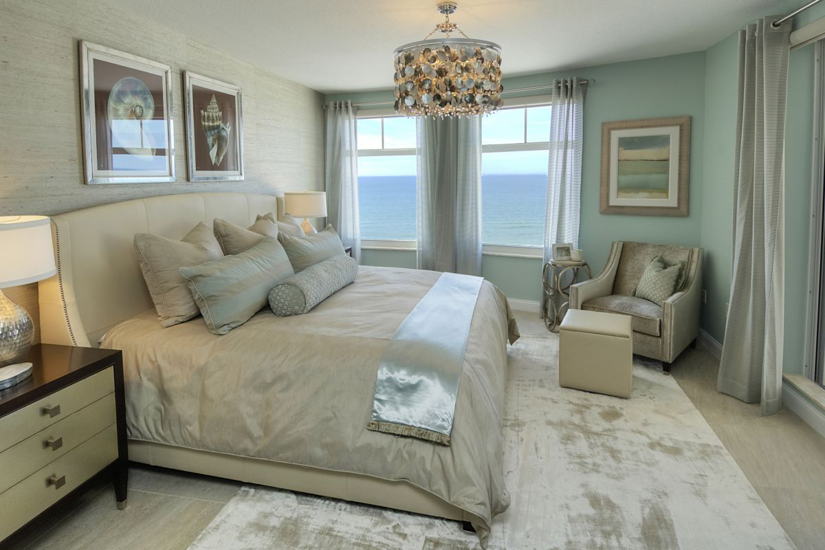 Decker Ross Interior Designers Florida Bedroom
