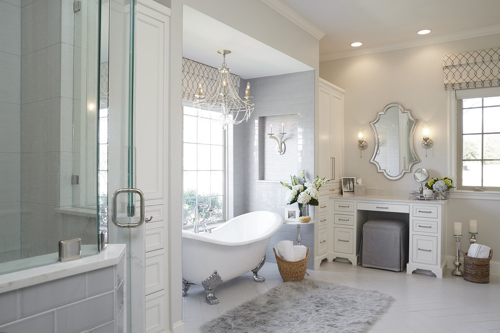 A Well Dressed Home Interior Design Texas Bathroom