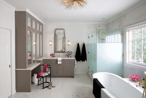 Benjamin Johnston Interior Design Texas Bathroom