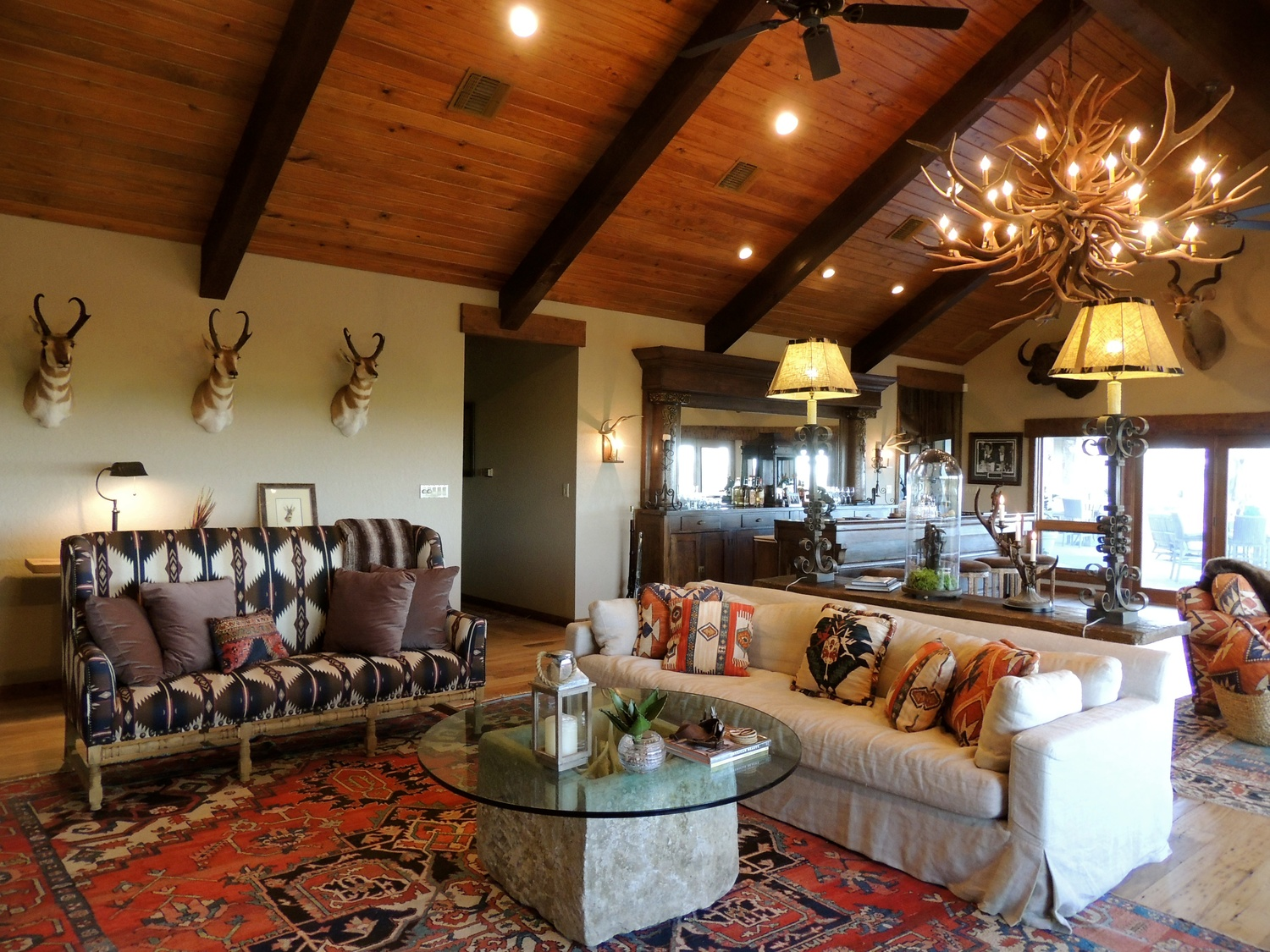 Trent Hultgren Interior Design Texas Oil Ranch