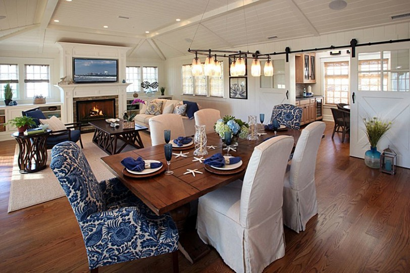 Beach Dwellings Interior Design New Jersey Dining
