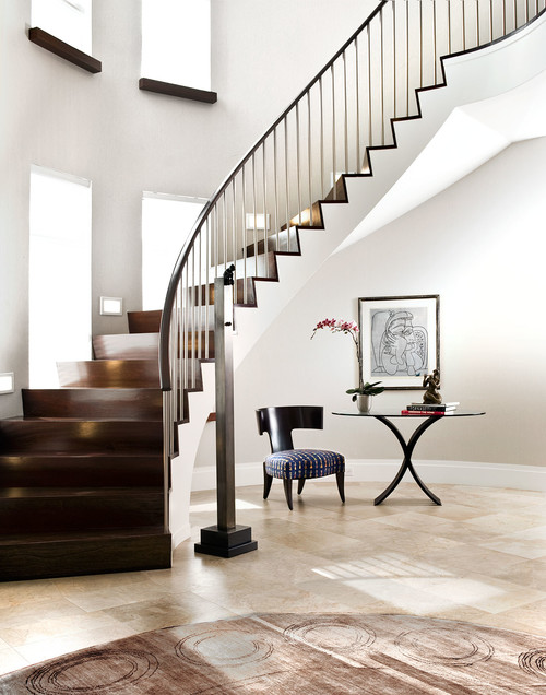 Kassel Interiors Contemporary Staircase New Jersey