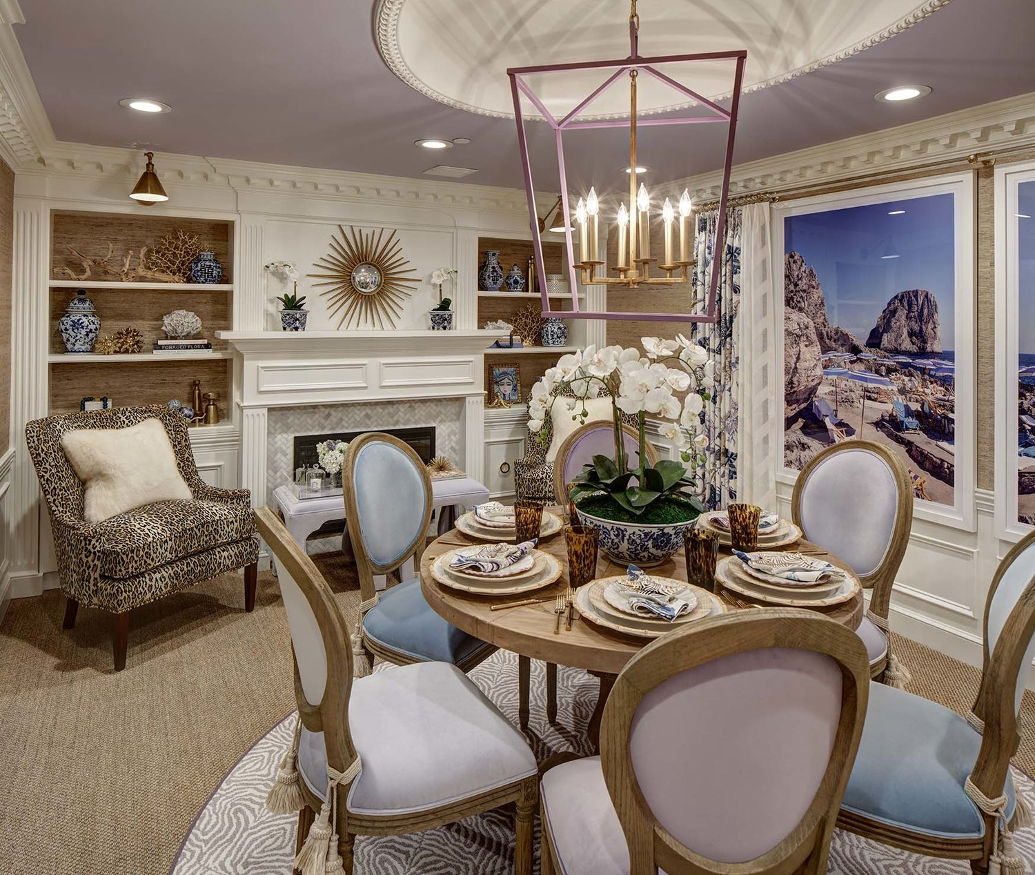 Kristin Ashley Interiors New Jersey Dining Room
