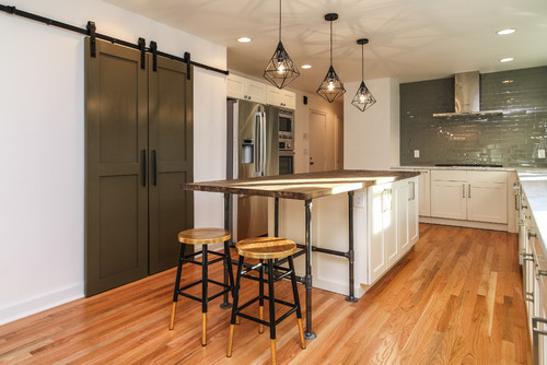 Nu Interiors New Jersey midcentury kitchen