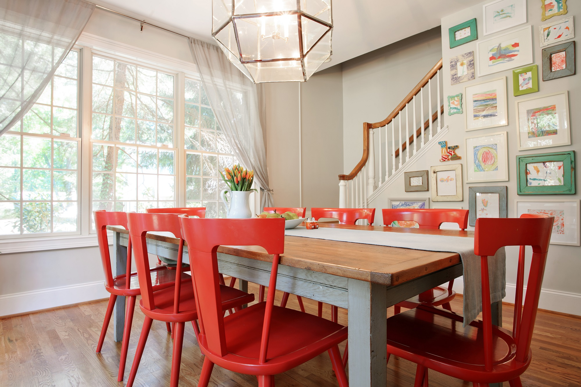Bon Larina Kase Interior Design Pennsylvania Dining