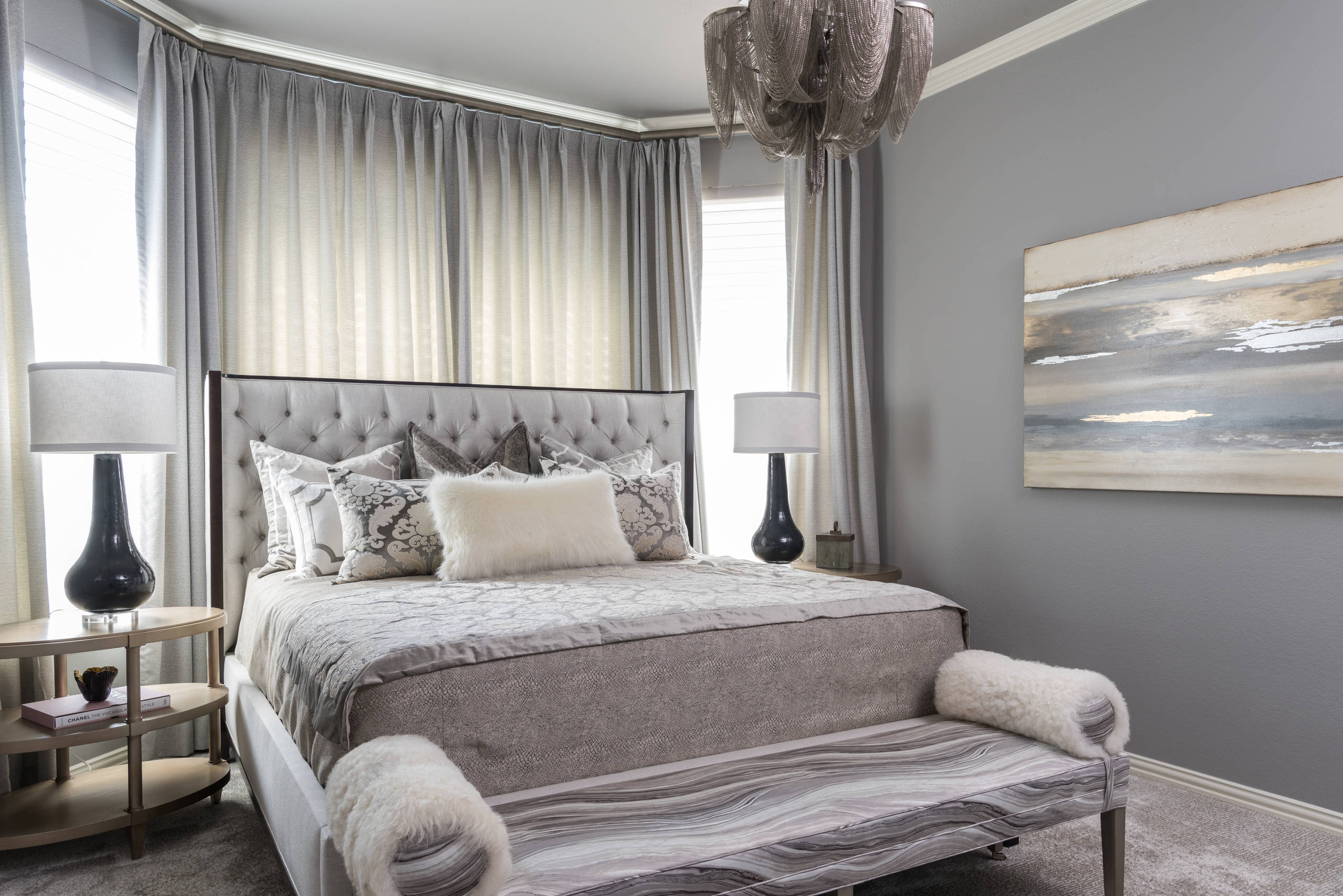 19 Blissful Bedroom Color Scheme Ideas - The LuxPad