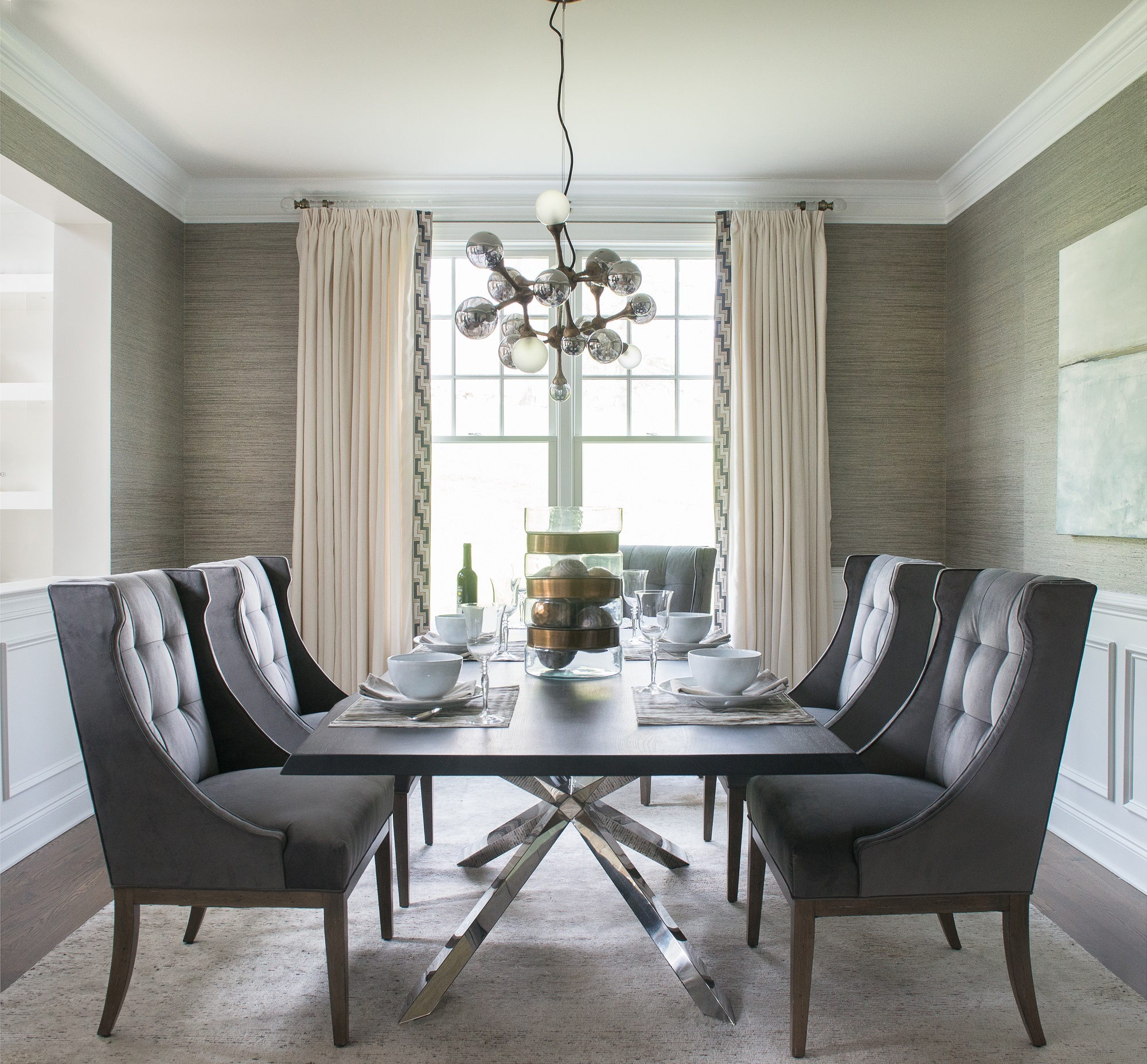Dalia Canora Interior Design Connecticut Dining